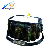 Bolso de la pesca FSBG021 Mayoristas Bolso de la pesca con 2 cajas plásticas y tubos 14pcs