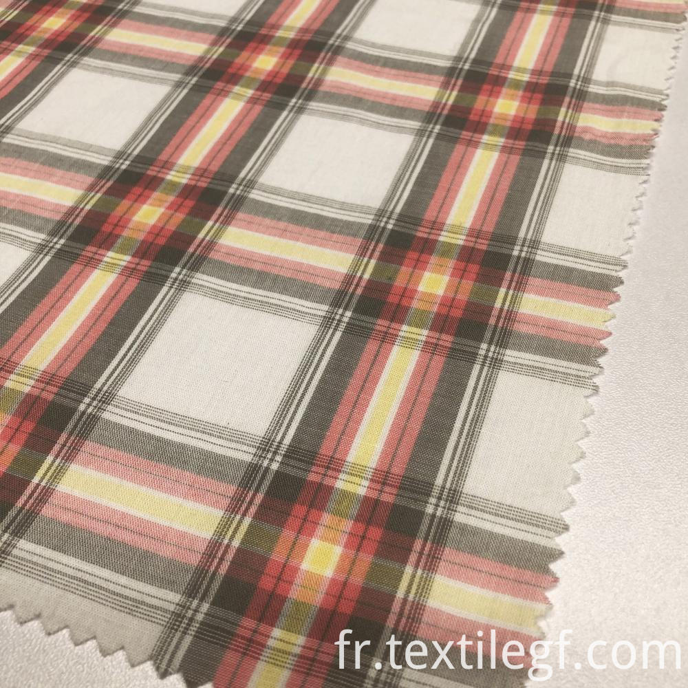Plaid Pattern Suitable For Shirt