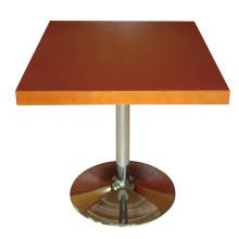 Mesa de comedor de mesa de restaurante de madera para muebles de hotel