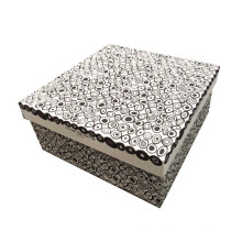 Caja de papel hecha a mano / cosmética elegante / caja de regalo