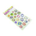 Bunte Ballon-Eckenpapieraufkleber für Bilder-Fotoalben-Rahmen-Ausgangsdekorations-Sammelalbum-Aufkleber