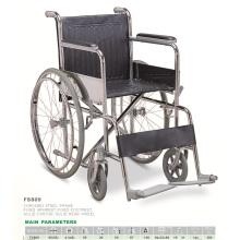 Cadeira de rodas manual (cadeira de rodas para deficientes, cadeira de rodas econômica)