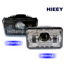 """DOT Approval 4""""X6"""" off road Led headlight for truck high / low beam headlight"""