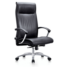 High Back CEO Office Chair with Plastic Armrest