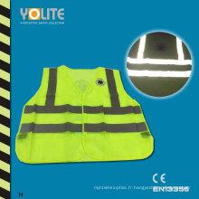 Gilet de sécurité réfléchissant avec CE En13356 pour la sécurité routière