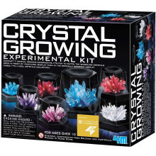 Easy DIY Stem Toy Lab Experiment Specimens, Educational Gift for Kids, Teens, Boys & Girls Crystal Growing Science Experimental Kit