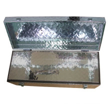 Diamond Aluminum Tongue Tool Box for Trailer