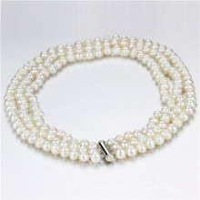Snh 8-9mm a Simple Pearl Necklace Jewelry