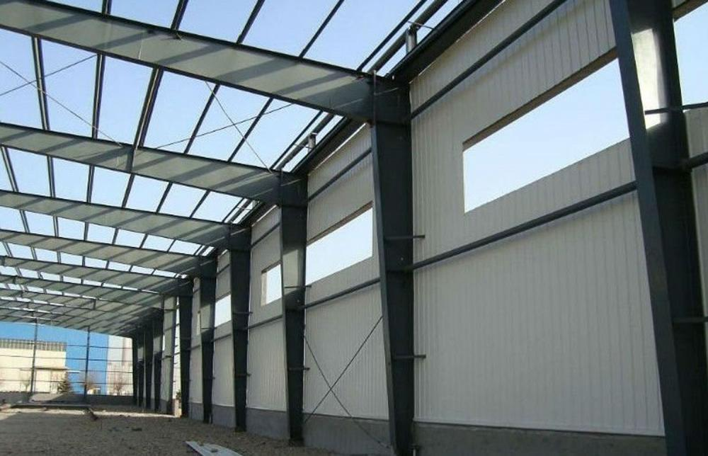 New design high quality prefab steel structure warehouse