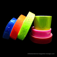 Safety Reflective Material For Clothing With Non-Adhesive PVC Tape