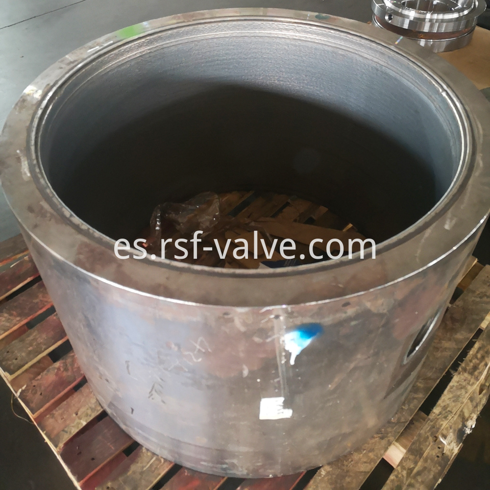 Ball Valve Part Body With Cladding 1