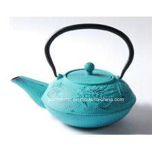 Embossed Cast Iron Teapot 0.7L