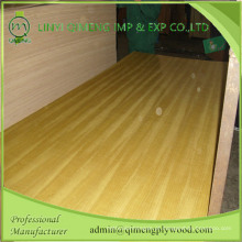 Material Decorativo e de Mobiliário Madeira de Contraplacado de Teca de Qualidade AAA com Marca Qimeng