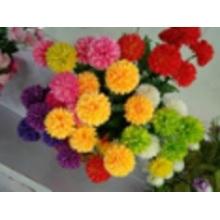 Fleurs décoratives chaleureuses avec hortensia