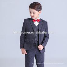 2016 nouvelle mode bébé garçon formelle robe noire couleur bulle garçon costume en gros