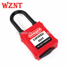 38mm ABS OEM Color Dustproof Osha Standard Safety Lockout Padlock