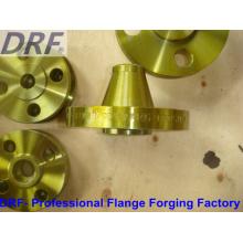 ANSI B16.5, Forging Flange, Welding Neck Flange, Yellow Painted