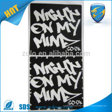 Adhesivo adhesivo de vinilo adhesivo de producto de China pelar etiqueta de dirección privada con la marca de impresión