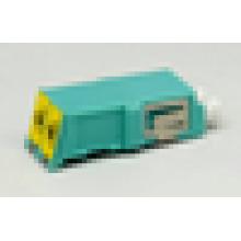 LC Adaptador duplex obturador de fibra óptica