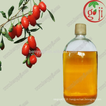 Huile de graines de baies Goji bio / huile de wolfberry