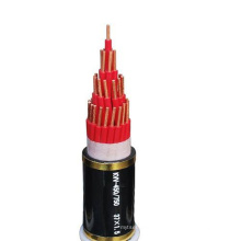 Max working temperature 70 degree industrial flex armored control cable
