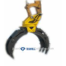 Pince hydraulique JCM JCM924, grappin de fixation de pelle, grappin à bois