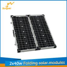 80W Folding Solar Panel Kit for Camping, Solar Module