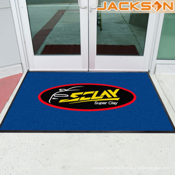Inject Printing Commercial Printed Logo Rubber Mats with Good Price