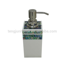Canosa Mother of pearl shell mosaic measured pump dispenser