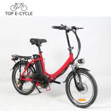 Cadre électrique se pliant de vélo électrique coloré de 20 pouces portant le vélo électrique chinois d'a2b de vélo électrique