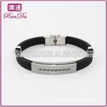 personalized silicone bracelet cool men's silicone bracelet