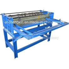 Simple steel strip slitting machine