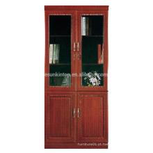 Estante comercial antiga com portas de vidro (T8082)