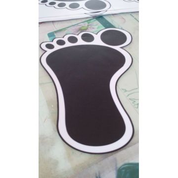 3d Floor Custom Waterproof Vinyl Stickers