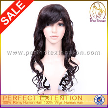 Extra Large Euro Curl Fair Short Afro Kinky Lace Human Hair Wigs