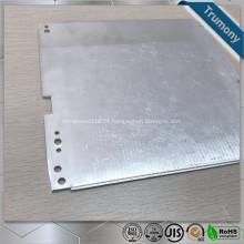 Tubo de aluminio plano superconductor compuesto para calefacción