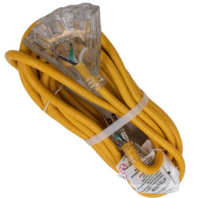 USA 50ft extension cord Yellow