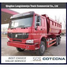 Camiones de volteo Sinotruk 10 Wheel HOWO 6X4 20cbm