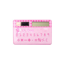 8 Digits Mini Super Thin Credit Card Shape Calculator