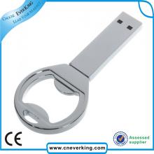 Ouvre-bouteille en métal USB Flash Drive