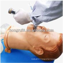 Modèle de formation à l'intubation adulte multifonctionnelle ISO, modèle d'intubation aérienne