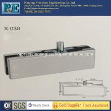 Estándar, personalizado, inoxidable, fabricación, vidrio, puerta, superior, abrazadera