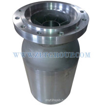 Painted Chemical Process Pump Part with Painted Enamel Rough