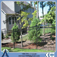 Anping Factory high quality decorative metal fencing, residential wrought iron fence, steel fence