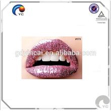 Autocollant de tatouage de lèvres personnalisé de haute qualité spécialisé dans la décoration