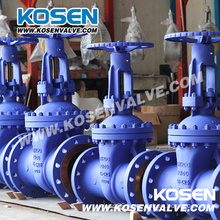 DIN F7 Series Rising Stem Gate Valves