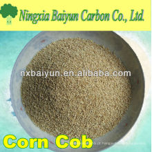 Espiga de milho para extração de metais pesados de águas residuais