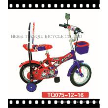 Bicicleta popular das crianças da segurança 12inch com roda de treinamento (tq075)