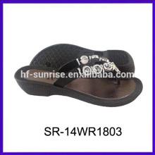 SR-14WR1803 mujeres del zapato del alto talón de la muchacha acuña los zapatos ocasionales de la manera de los zapatos