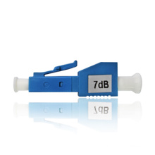 Atenuador de fibra óptica fêmea a macho, atenuador de fibra lc para rede ftth